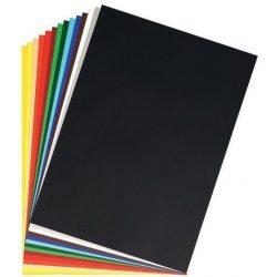 Herlitz barkácskarton 50x70 cm (300g/m2) fekete