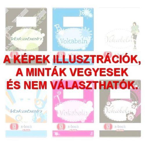 Herlitz szótárfüzet A6, 32 lapos