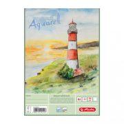 Herlitz akvarell-rajzblokk A4, 20 ív, 150g/m2-es papírból
