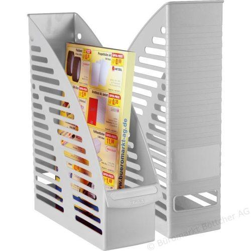Herlitz Imperial műanyag álló irattartó A4, világosszürke