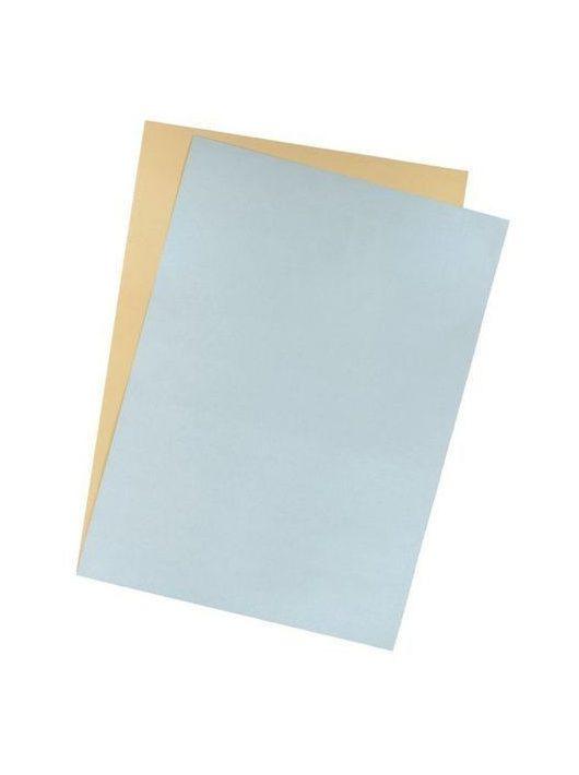 Herlitz barkácskarton 50x70 cm (300g/m2) ezüst