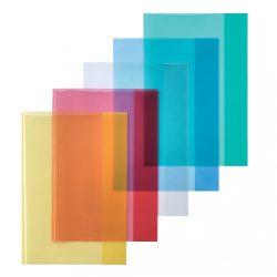 Herlitz füzetborító A4 PP átlátszó kék