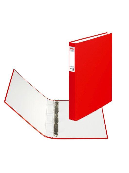Herlitz Gyűrűskönyv A4 4 gyűrűs 2,5cm piros