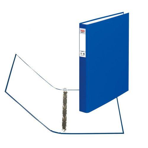 Herlitz Gyűrűskönyv A4 4 gyűrűs 2,5cm kék