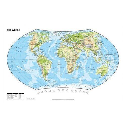 Herlitz könyöklő térkép 62,5cm x 41,5cm