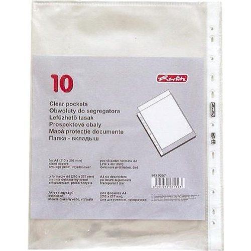 Lefüzhető tasak 10 db A4 víztiszta, 50 mikronos genotherm