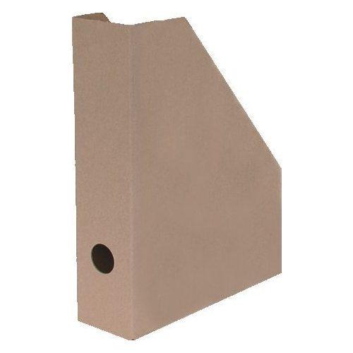 Álló irattartó karton 7cm barna