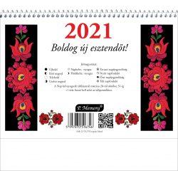 FolkArt asztali naptár 23-as+hát 2020