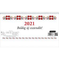 FolkArt 24-es asztali naptár+hát 2020