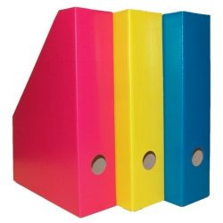 Álló irattartó karton 7 cm Color Blocking sporty lemon