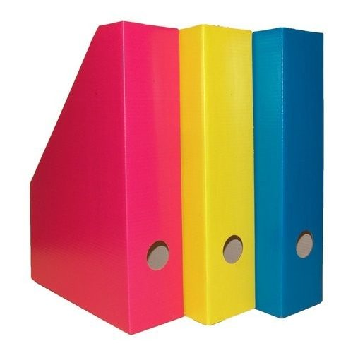 Álló irattartó karton 7 cm Color Blocking cool pink