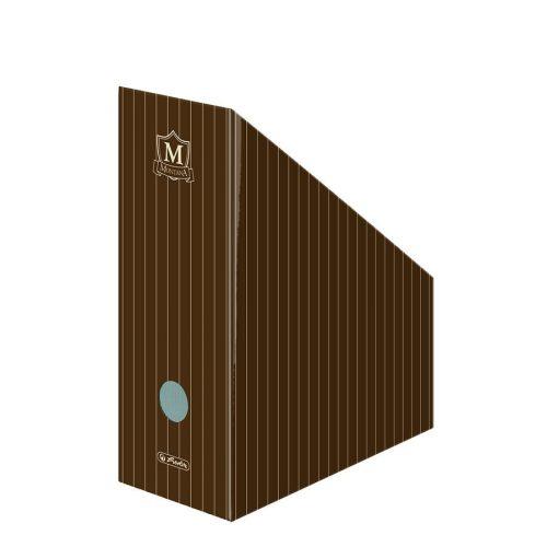 Álló irattartó karton A4 11 cm, Montana barna