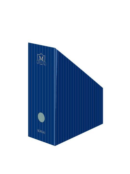 Álló irattartó karton A4 11 cm, Montana kék
