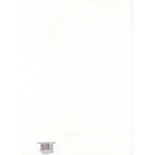 Rajzlap A4, 10 ív, famentes
