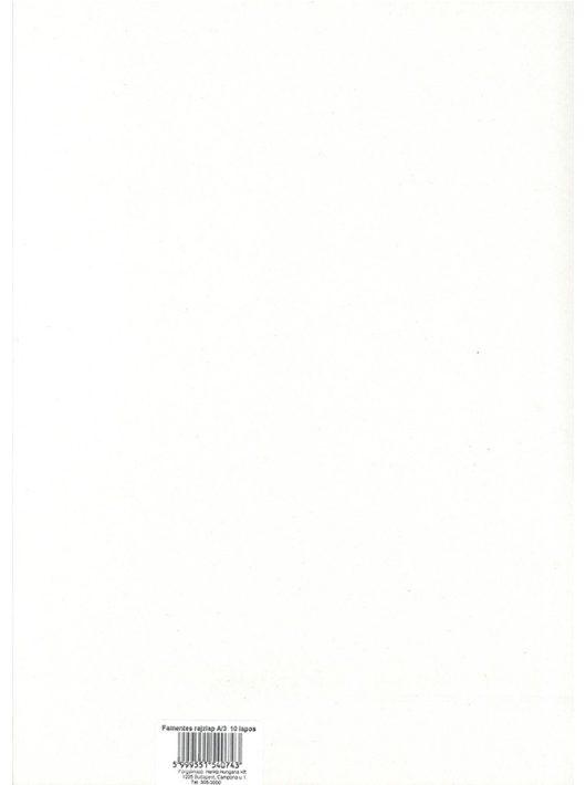 Rajzlap A3, 10 ív, famentes