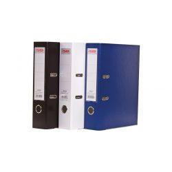 Iratrendező A4 7,5cm élvédős, cserélhető címkés kék