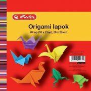 Origami lapok 20x20 cm, 20 ív