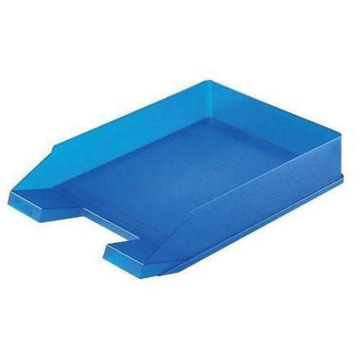 Irattartó tálca Classic A4 átlátszó kék