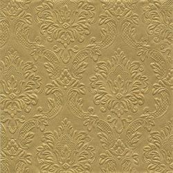 Dombornyomott szalvéta arany