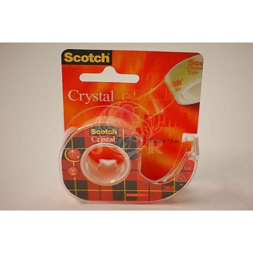 3M/Scotch Crystal ragasztó szalag