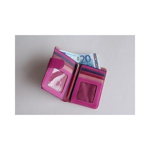 ff1819b74fce MyWalit, valódi bőr pénztárca, rózsaszín - KeS Papír - Minőségi ...
