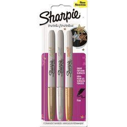 Sharpie Marker Permanent Fine Metál alkoholos filc szett