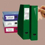 Címketartó zseb, 25x75 mm, öntapadó, 3L (3L10310)
