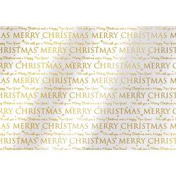 Karácsonyi Celofán 2mx70cm Christmas