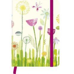 teNeues gumis napló, A5, virág