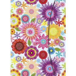 teNeues napló, A5 mágneses, Flower Fantasy