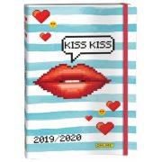 ONLINE 18 hónapos naptár, Kiss Kiss