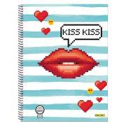 ONLINE Spirálfüzet A4, Kiss Kiss