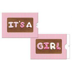Képeslap, zippes, It's a (lány)