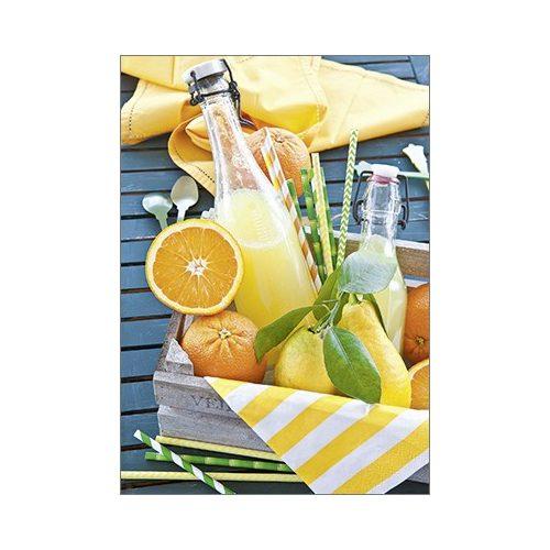 Képeslap, citrusok