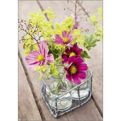 Képeslap, virágok