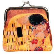 Pénztárca - Klimt: Küss