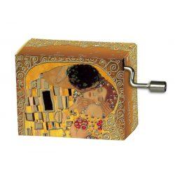 Zenedoboz, Klimt - Csók