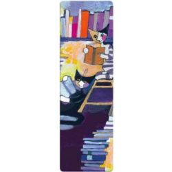 Könyvjelző - Wachtmeister: Reading cats