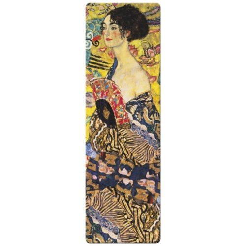 Könyvjelző - Klimt: Women with fan
