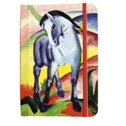 Jegyzetfüzet, Franz Marc - Blue Horses