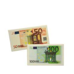 TRH Radír, euro bankjegy