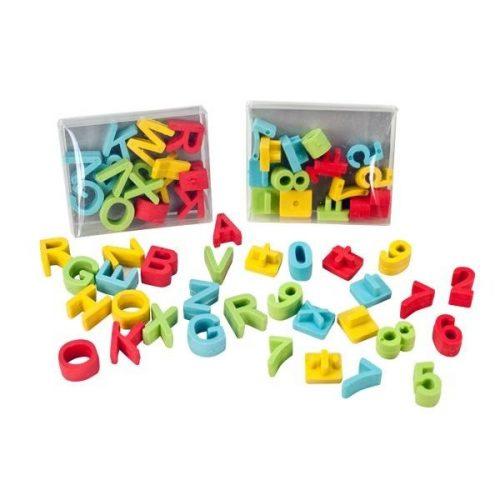 TRH radír betűk
