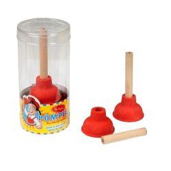 TRH WC pumpa radír és ceruza
