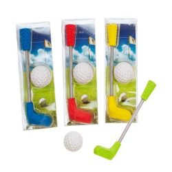 TRH Radír, golfütő és labda, 2db