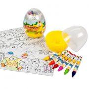 TRH tojás színező gyerekeknek