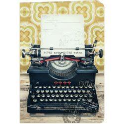 Füzet A5 vonalas, 331-28 írógép