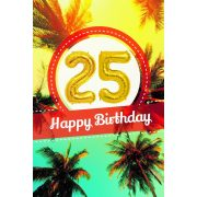 YES képeslapos lufi 25