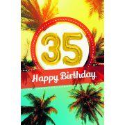 YES képeslapos lufi 35