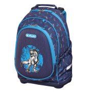 Iskolatáska Bliss üres Blue Dino