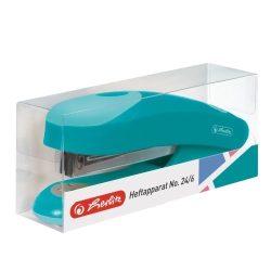 Tűzőgép ergo 24/6 Color Blocking caribbean turquoise